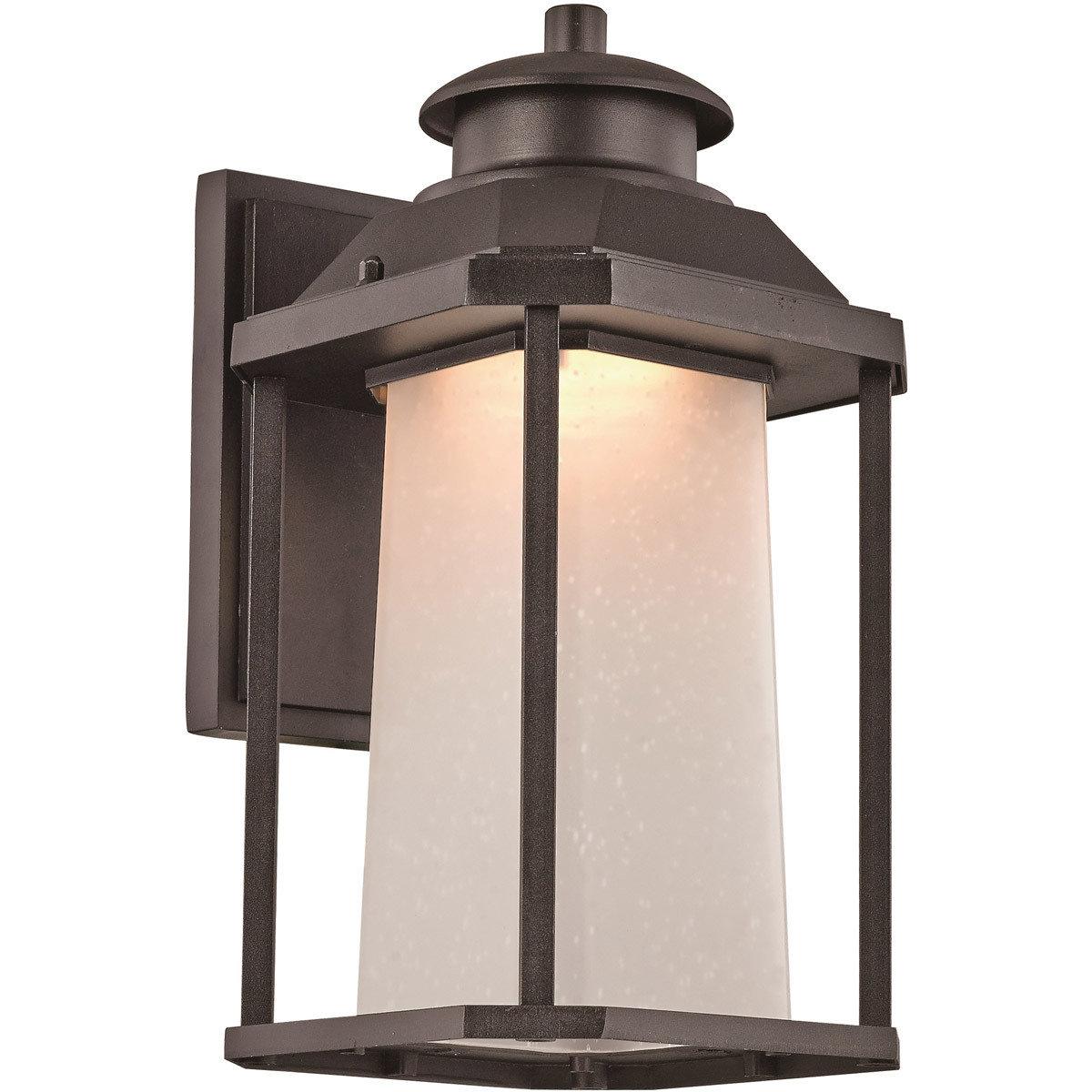 Southfield Black LED Wall Lantern T-106897