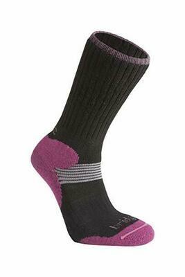 Bridgedale női sífutó zokni fekete/lila