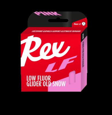 Rex LF (low fluor) glider wax - 5 féle