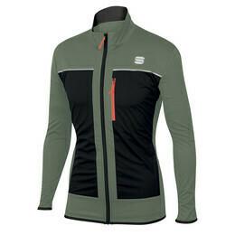 Sportful Engadin softshell sífutó kabát zöld ffi