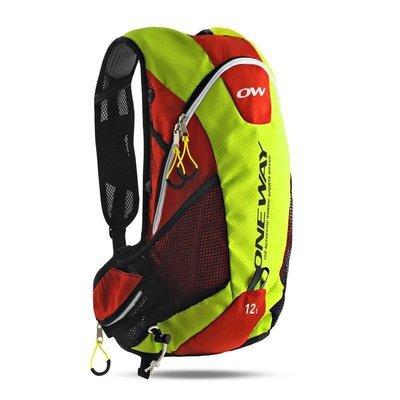 ONE WAY Run Hydro hátizsák 12 L piros/sárga