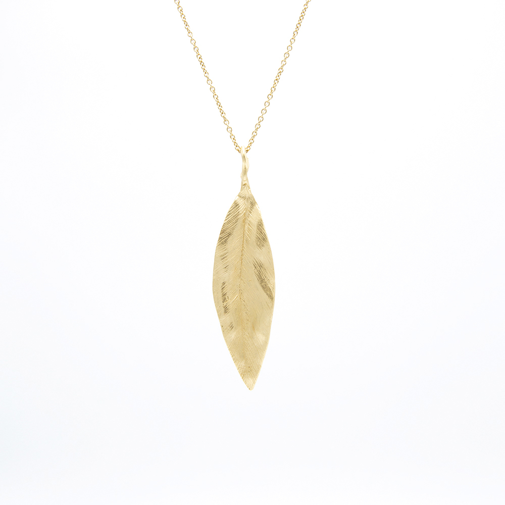 Pendente Leaves Big - Giulia Barela Jewelry