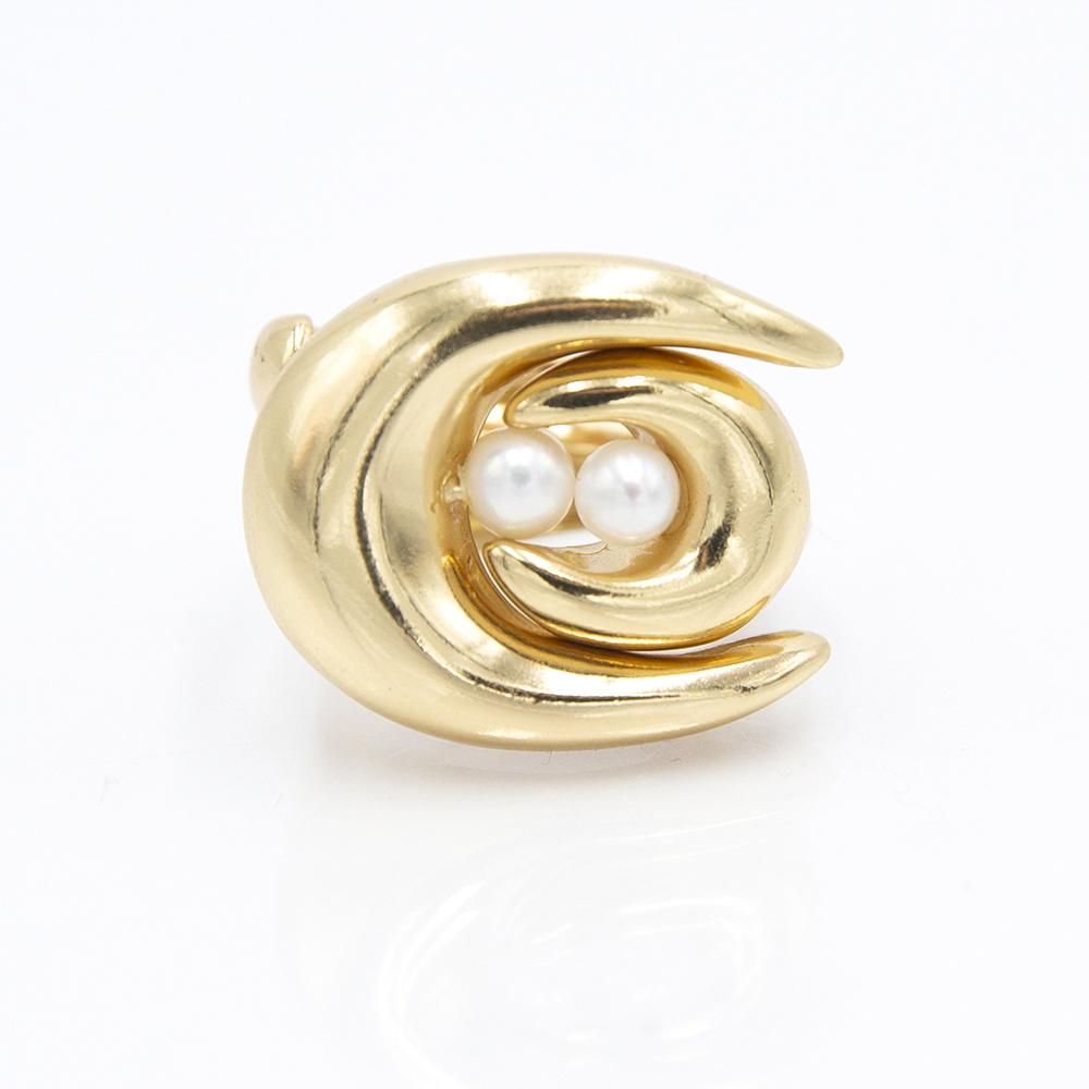 Anello Double Brancusi - Giulia Barela Jewelry