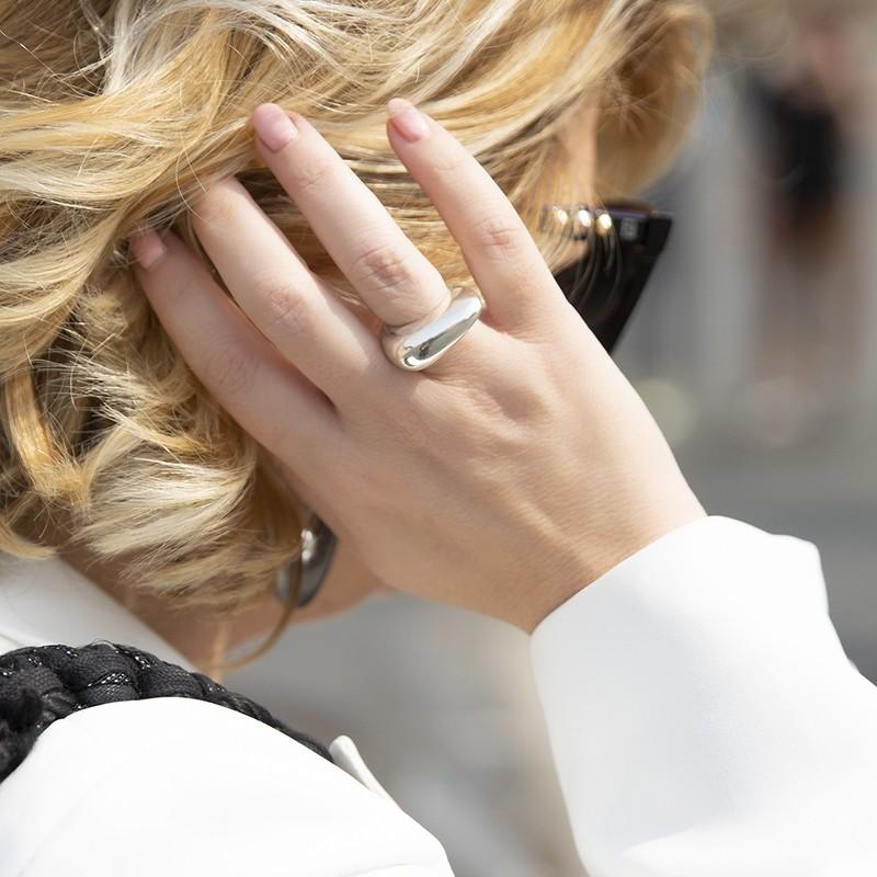 Anello Moore Argento - Giulia Barela Jewelry