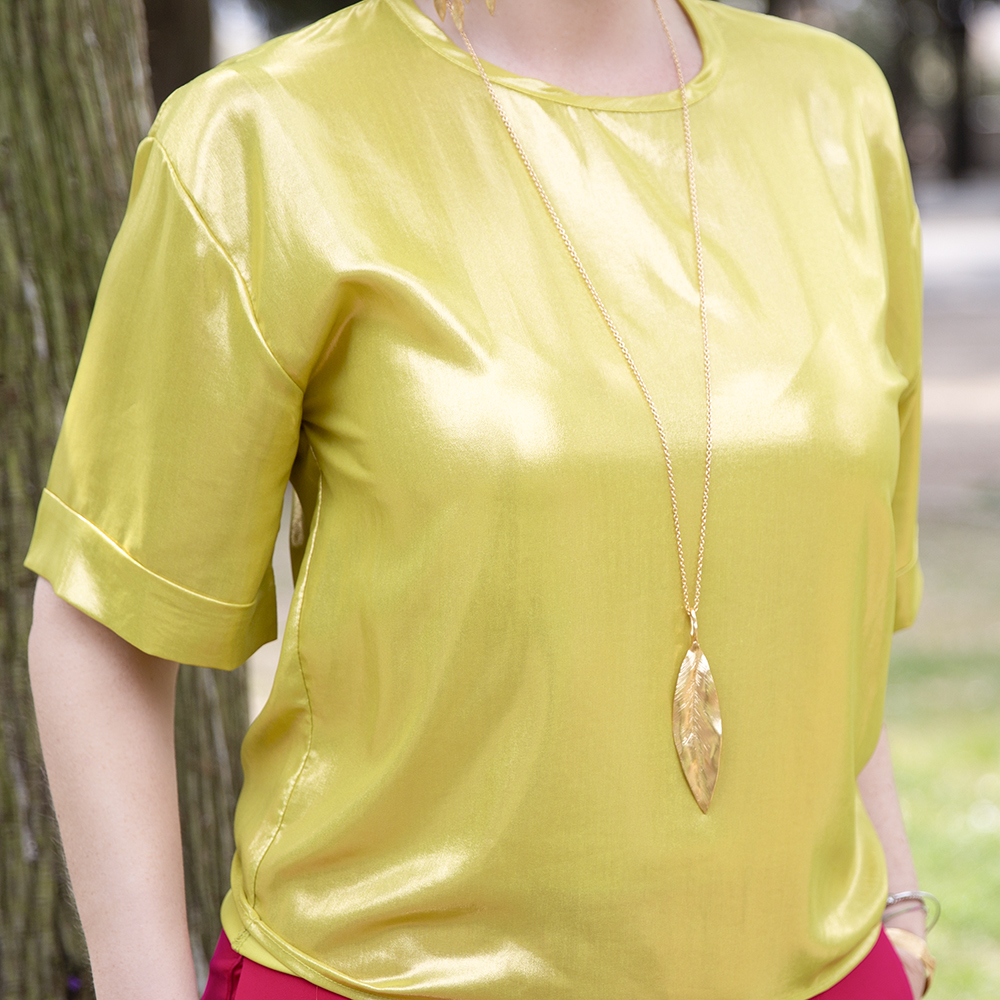Pendente Leaves Big - Giulia Barela Jewelry 00097