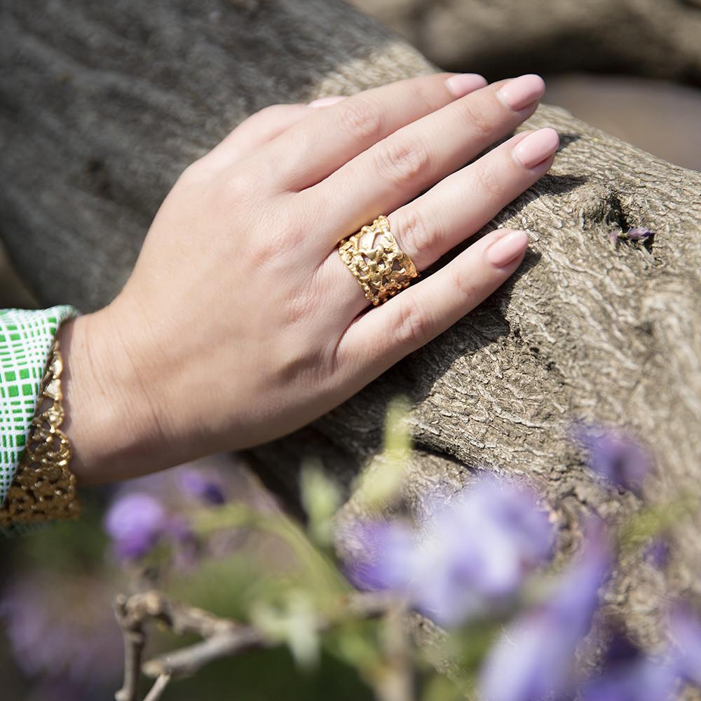 Anello Pebbles - Giulia Barela Jewelry