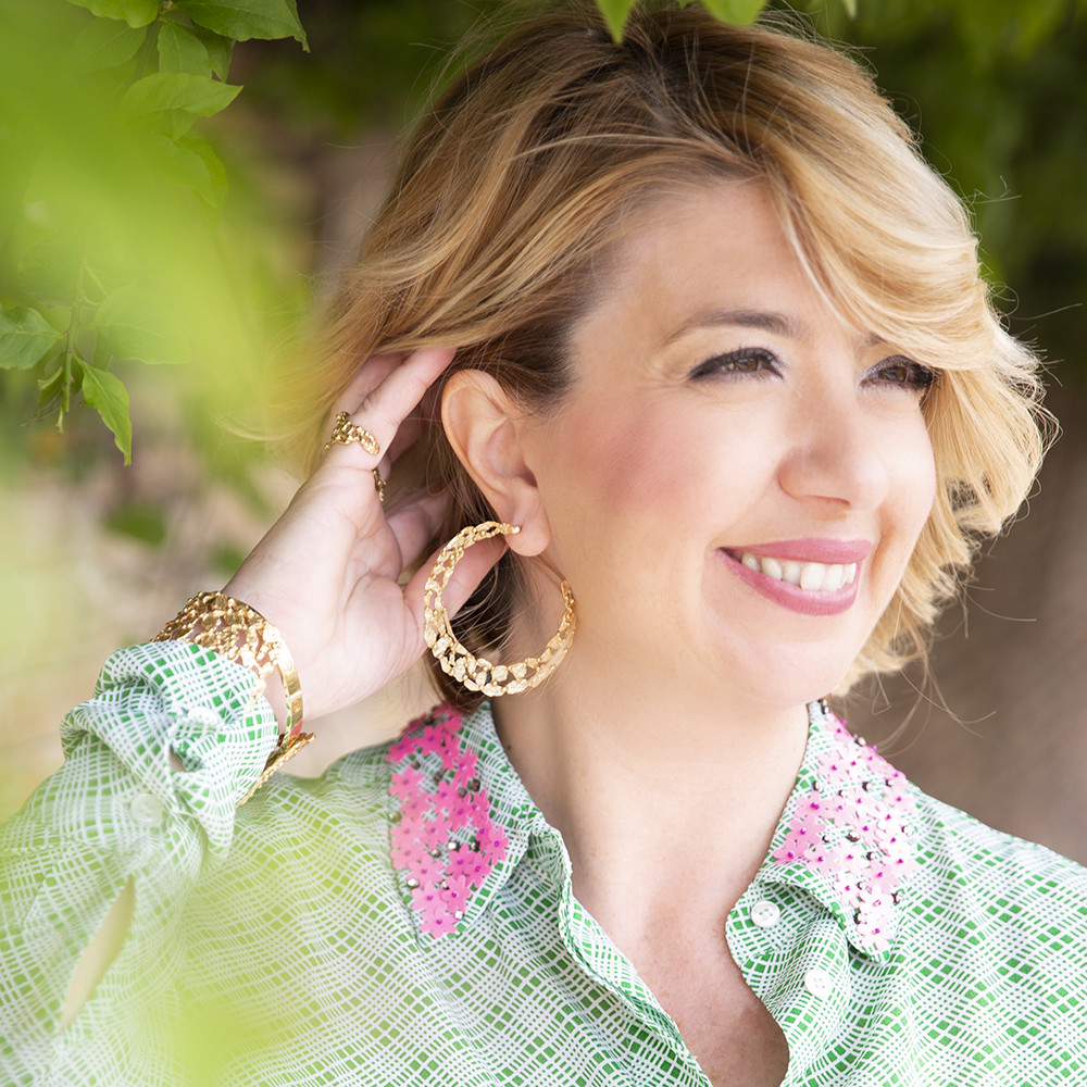 Orecchini Hoop Pebbles Big - Giulia Barela Jewelry