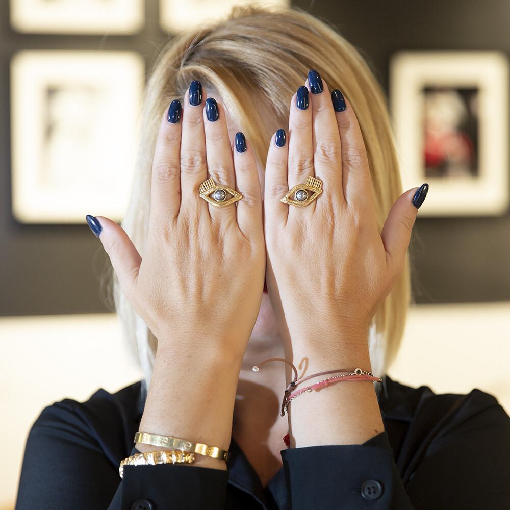 Coppia di Anelli Eyes - Giulia Barela Jewelry