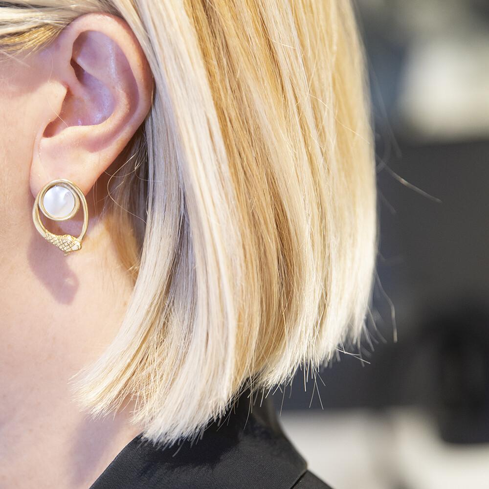 Orecchini Infinity - Giulia Barela Jewelry