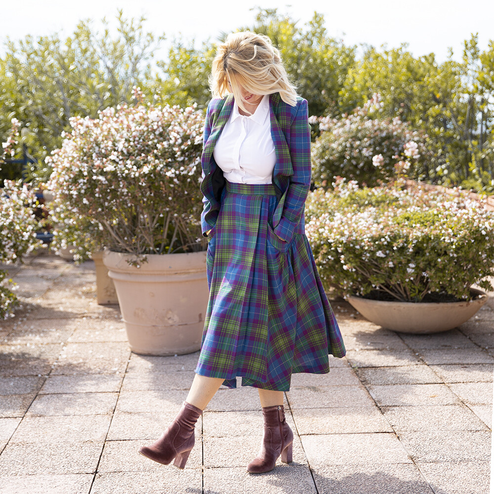 Gonna Tartan Blue - Luluredgrove