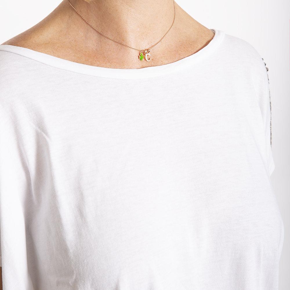 Collana Monogram di 20 Celesti Bijoux