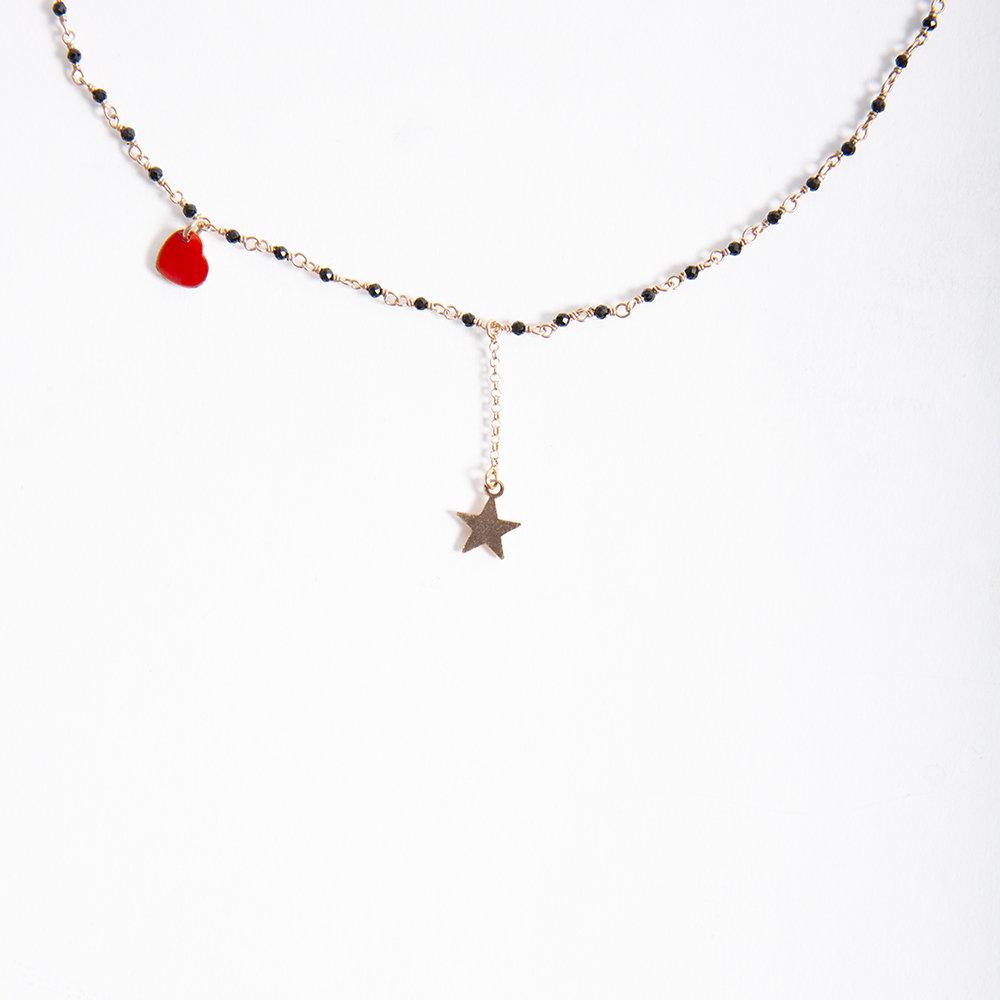 Collana Baby Rosario di 20 Celesti Bijoux