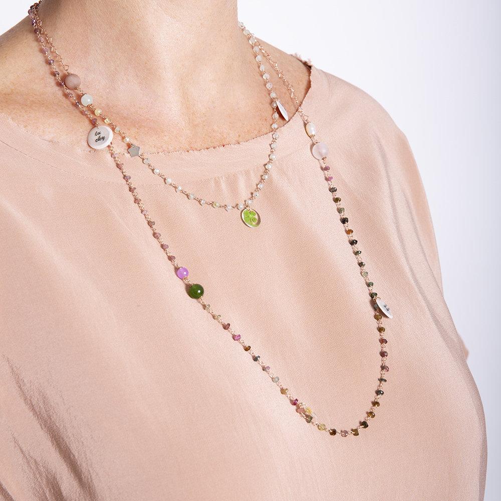 Collana Multicolor di 20 Celesti Bijoux