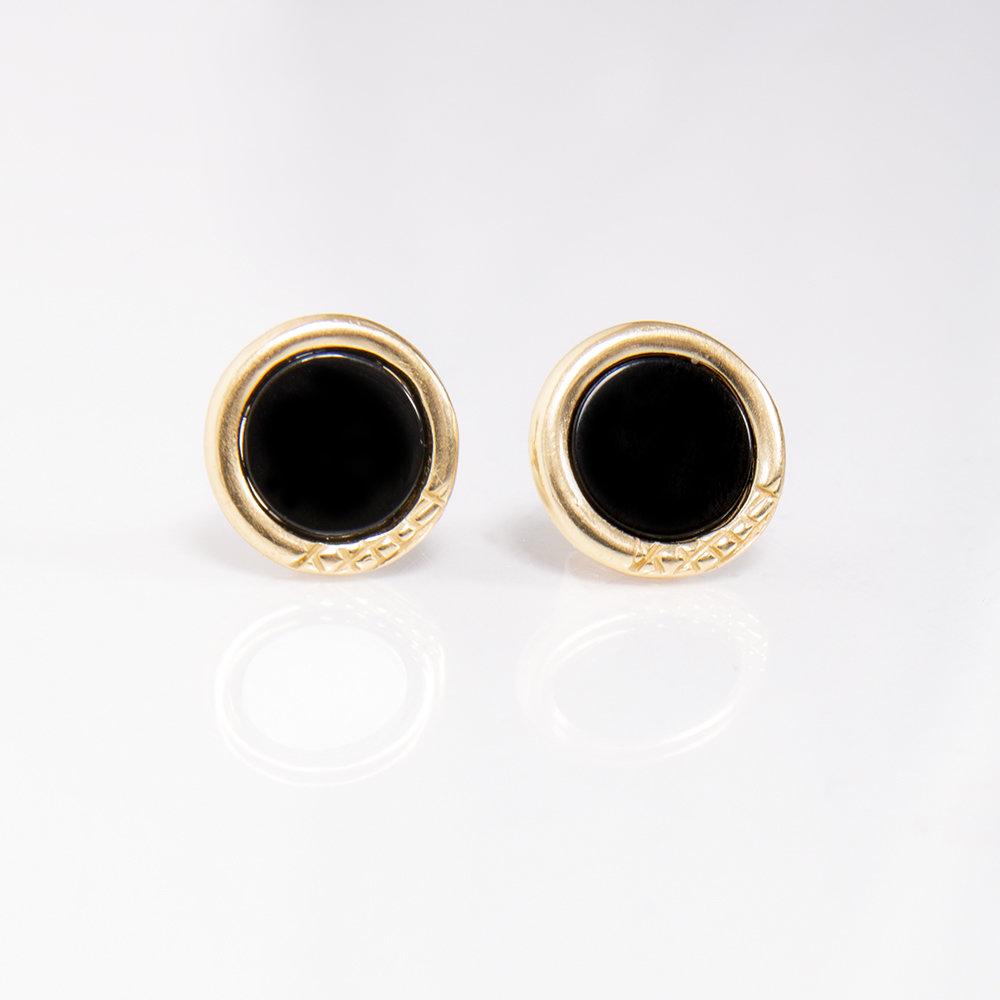 Orecchini Ouroboro Stone - Giulia Barela Jewelry 00033
