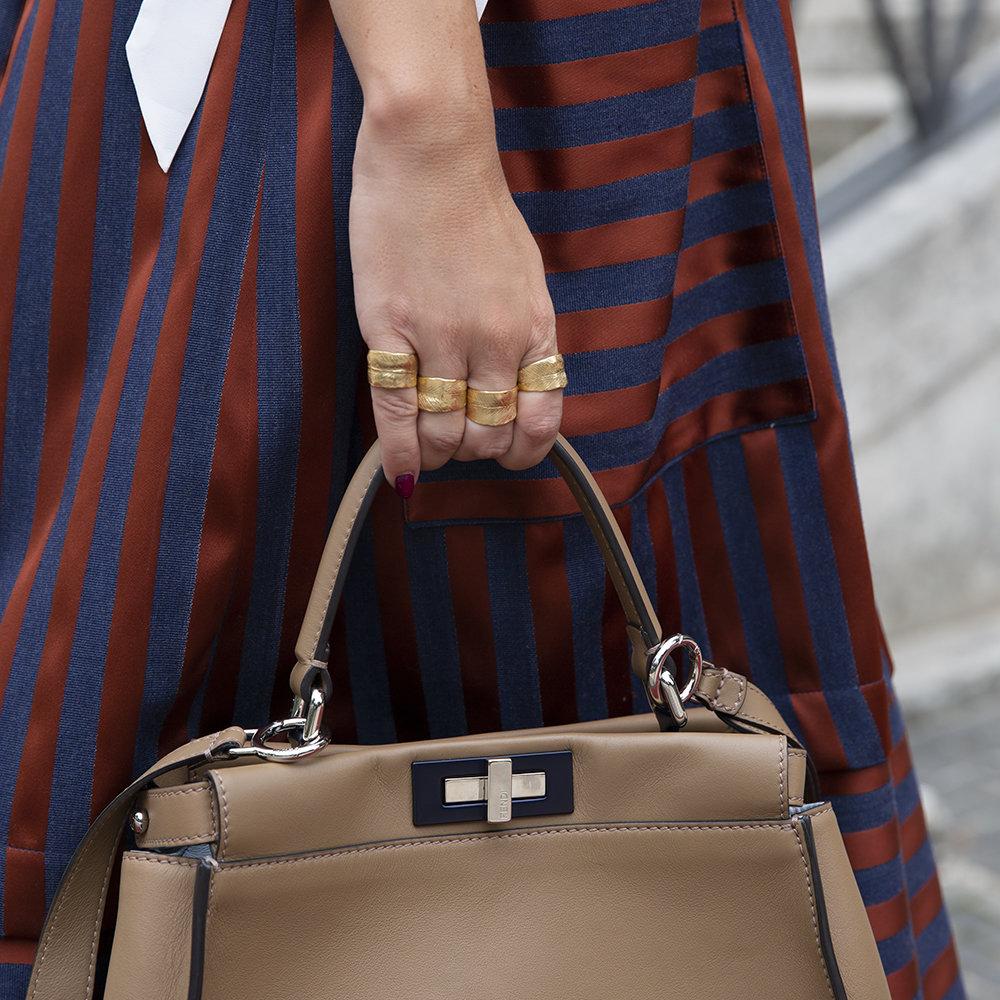 Anelli Four Leaves - Giulia Barela Jewelry