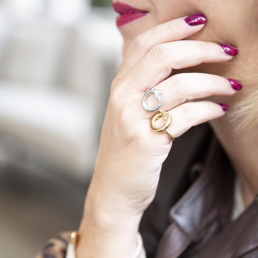 Anello Ouroboro Small - Giulia Barela Jewelry 00043