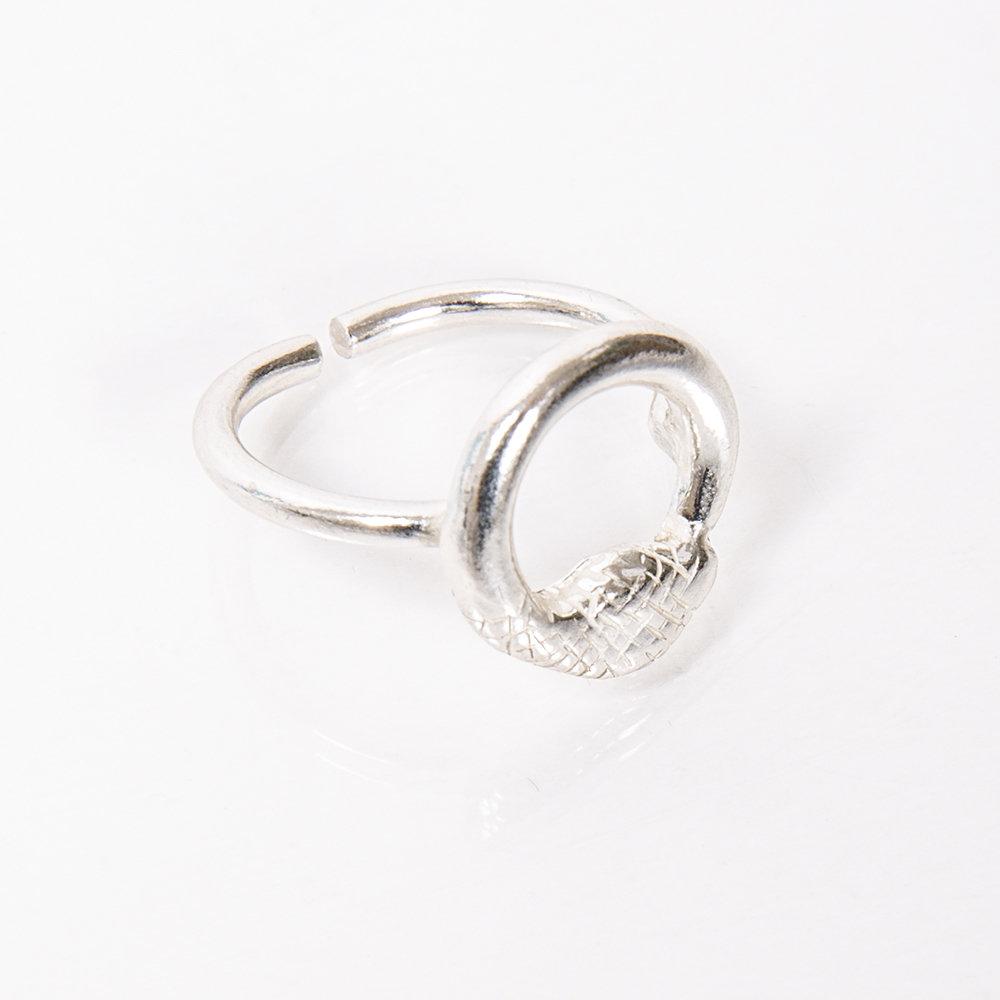 Anello Ouroboro Small - Giulia Barela Jewelry