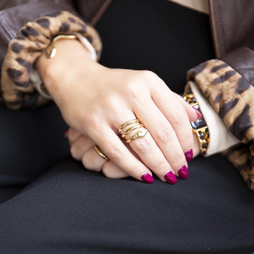 Anello Coil Big - Giulia Barela Jewelry
