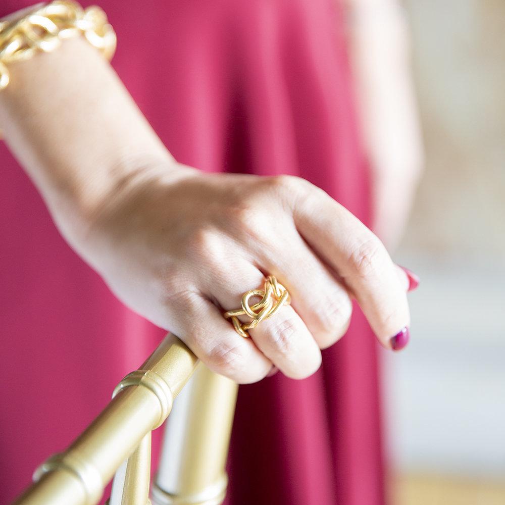 Anello Knot Light - Giulia Barela Jewelry