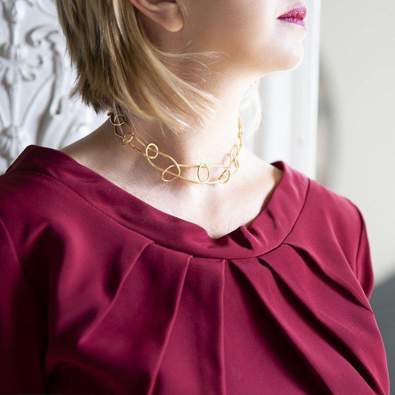Collana Chocker Knot Light - Giulia Barela Jewelry