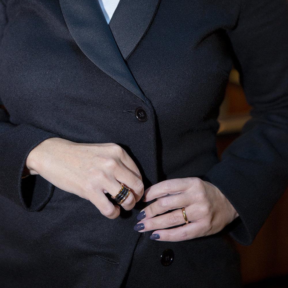 Cappotto Smoking Robe Manteau di Luluredgrove