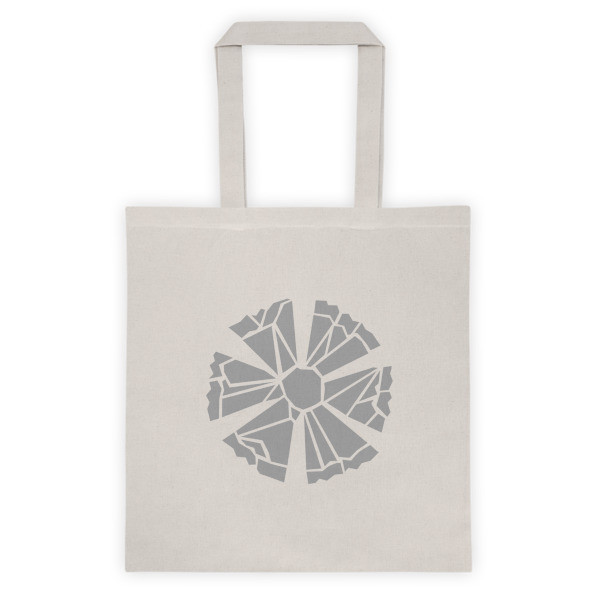 Cotton Tote Bag with a Cornflower Logo