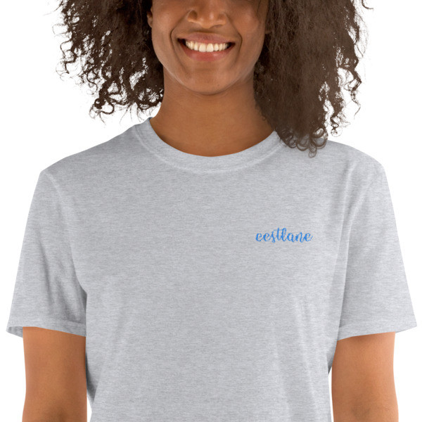 Embroidery Short-Sleeve Unisex T-Shirt with a  Eestlane Logo