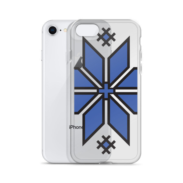 iPhone Case with a Morning Star Motif