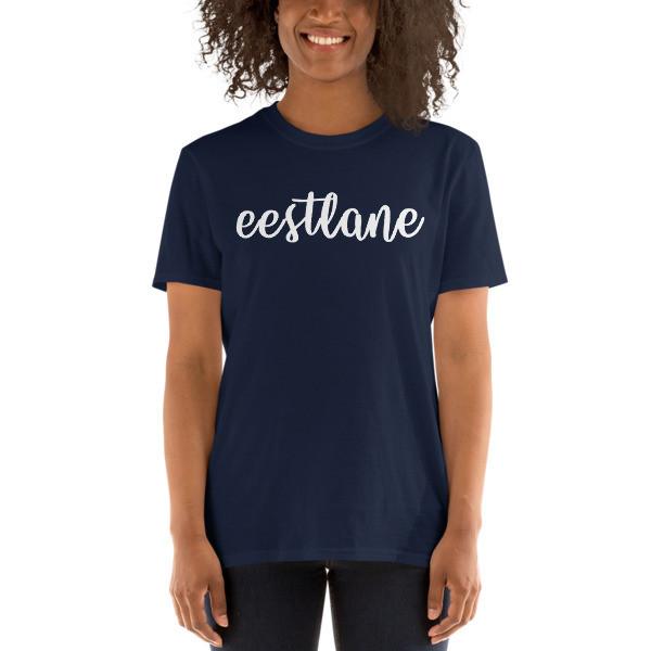 Short-Sleeve Unisex T-Shirt with Eestlane motiv