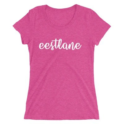 Ladies' short sleeve t-shirt with Eestlane Logo