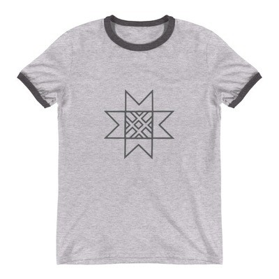 Ringer T-Shirt with a Morning Star Logo