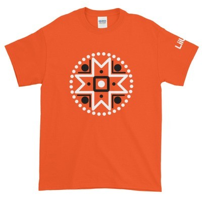 Short-Sleeve T-Shirt with a Muhu Motif