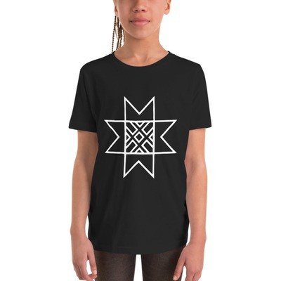 Youth Short Sleeve T-Shirt with Morning Star Logo