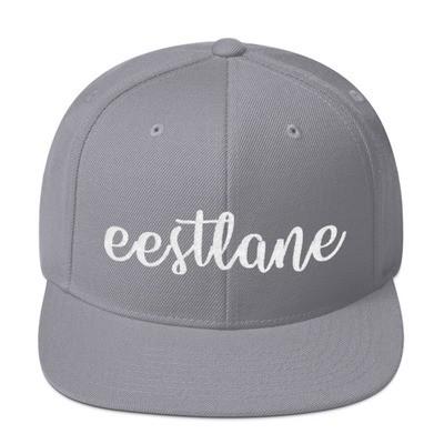 Embroidered Snapback Hat with Eestlane Logo