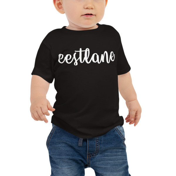 Baby Jersey Short Sleeve Tee with Eestlane Logo