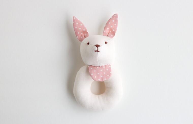 набор заяц-погремушка