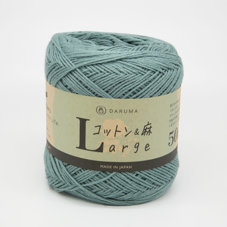 cotton & linen large бирюзовый (17)