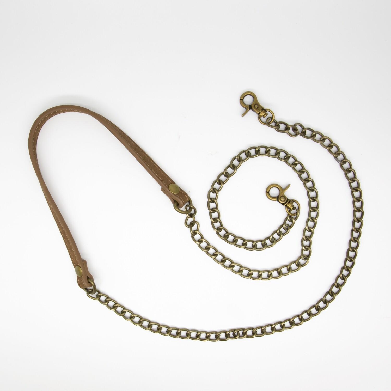 цепочка для сумки 1205 коричневый