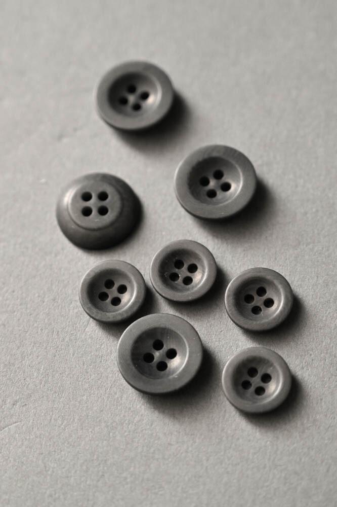 пуговицы corozo grey 14 мм