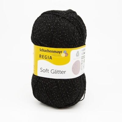 Soft Glitter черный 99
