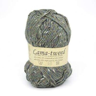 lama tweed зеленый 6448