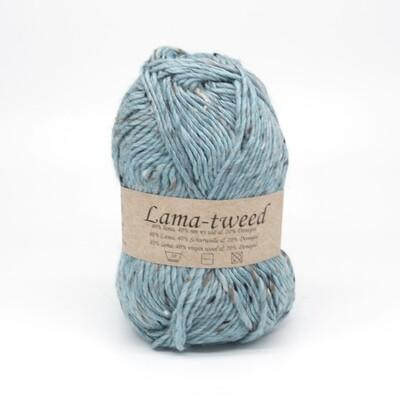 lama tweed турецкий голубой  6429