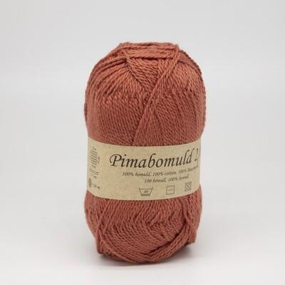 pima bomuld коралловый темный 3478