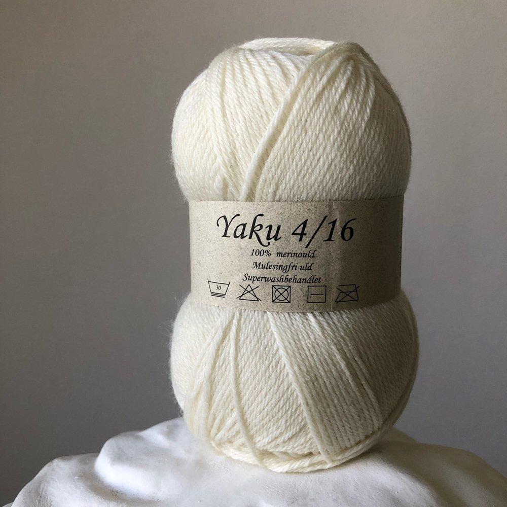 yaku натуральный белый 1000