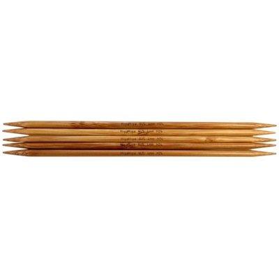 чулочные спицы бамбук 15см острые