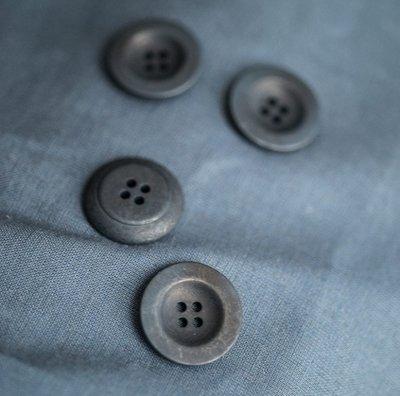 пуговицы corozo 22 мм синие