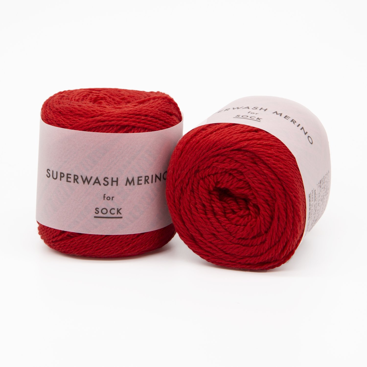 superwash merino красный 06