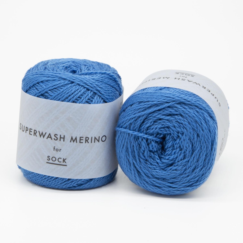 superwash merino голубой 04