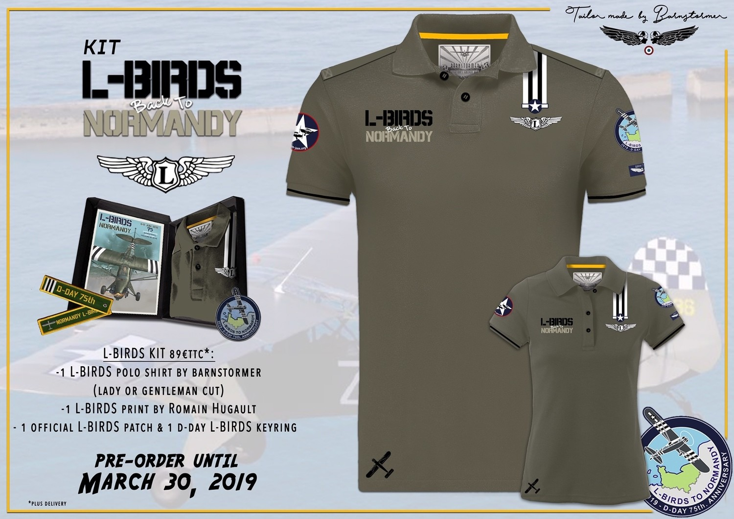 L-Birds Gift Box by Barnstormers © (English text)