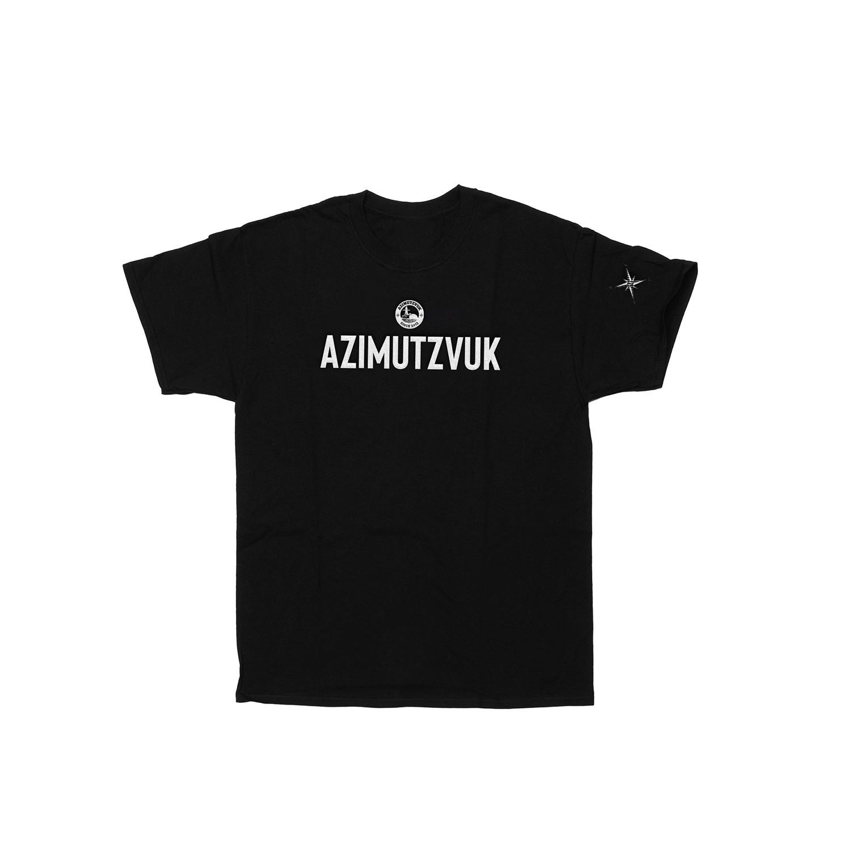 AZIMUTZVUK ФУТБОЛКА - ЧЕРНАЯ